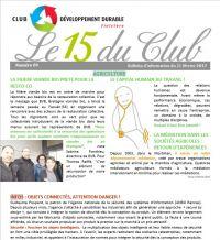 Bulletin 15 du Club N° 89